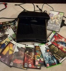 Xbox 360 прошитый +kinekt 360+ игры