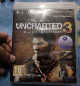Диск на PS3 UNCHARTED 3