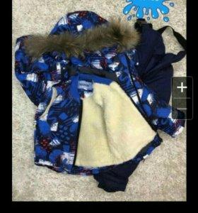 Новый мембранный зимний костюм