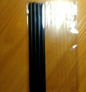 Простые карандаши с кристалликами