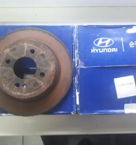 Диски тормозные для Kia Rio 3/ Hyundai Solaris