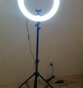 Кольцевая лампа. Цена до НГ!