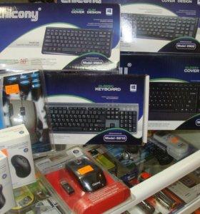 Новые мыши и клавиатуры Chicony