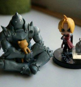 Фигурки из аниме Full Metal Alchemist