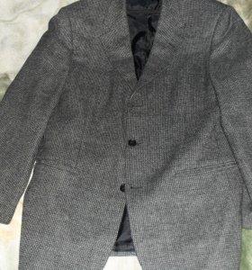 Пиджак. Серый. Б/у.