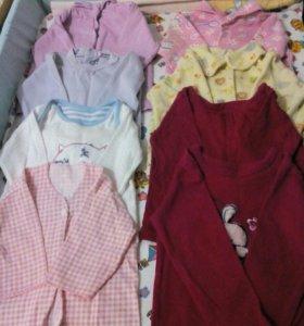 Одежда для девочки 6-9 месяцев