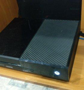 Xbox one 500gb + kinekt + игры + геймпад