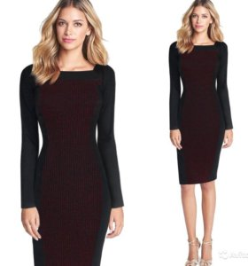 Женское офисное деловое платье