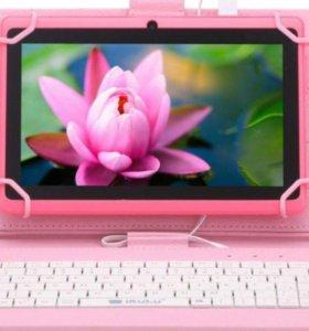 Универсальный чехол-клавиатура для планшета