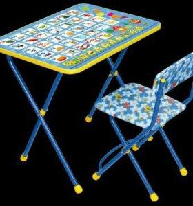 Комплект мебели стол+стул. Новый.
