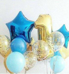 Красивые шарики и фигурки из шаров