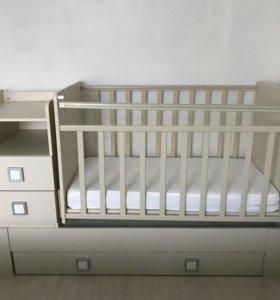 Кроватка - трансформер б/у