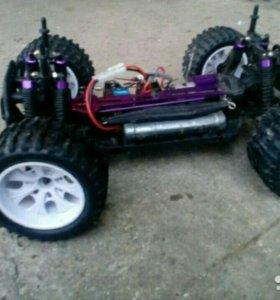 Машинка с коллекторным двигателем