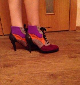 Шикарная обувь для модниц!Натуральная кожа и замша
