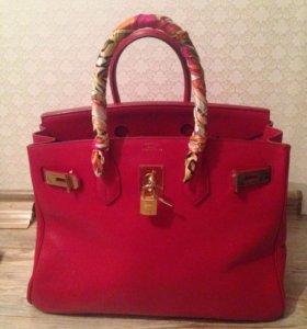 Кожаная сумка ( Hermes )