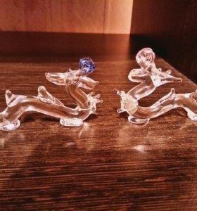 Статуэтки дракона стекло