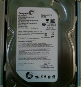"""HDD жёсткий диск Seagate Pipeline HD 2 320gb 3.5"""""""
