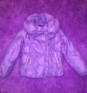 Тёплая куртка Benetton 7-8 лет