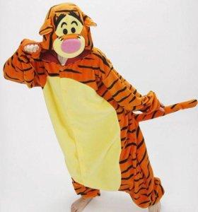 Кигуруми. Пижама. Костюм. Косплей. Тигра