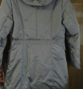 Зимняя удлинённая куртка