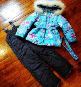 Теплый зимний комплект Pulka размер 110
