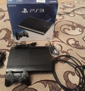 Ps3 super slim 12gb с дисками