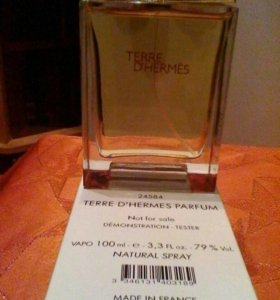 Мужской парфюм Terre D'Hermes,тестер 100 мл.СКИДКА