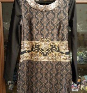Оригинальное платье р46