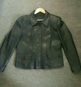 Куртка -пиджак кожа