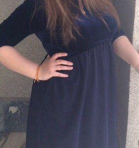 Платье широкое подойдёт так же беременной, срочно