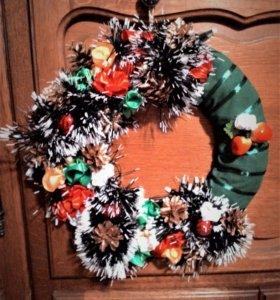 Венок рождественский, новогодний