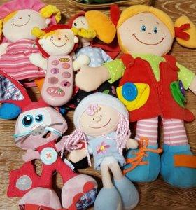 Детские игрушки+доска для рисования в подарок