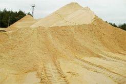 Желтый от 1 куба песок