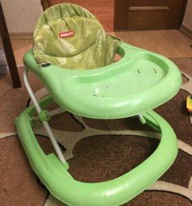 Ходунки детские зеленые