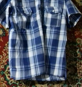 Мужская рубашка, летняя.