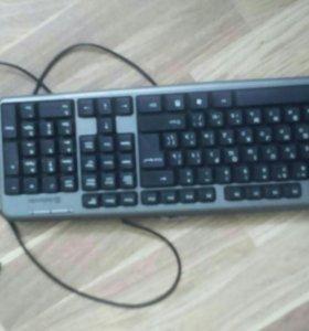 Компьютер. Монитор мышка клавиатура