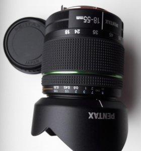 Объектив SMC Pentax DA 18-55 mm f/3,5-5.6 ED