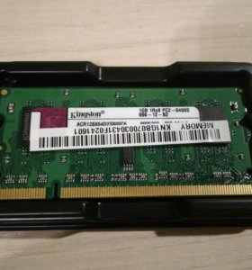 Kingston 1 Gb DDR2 SODIMM 800MHz