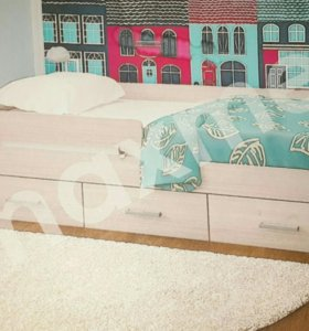Кровать со съемным бортиком 3