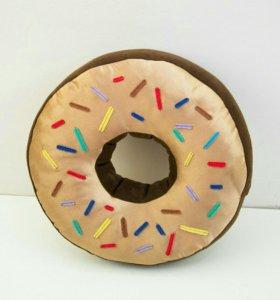 Подушка-пончик на заказ