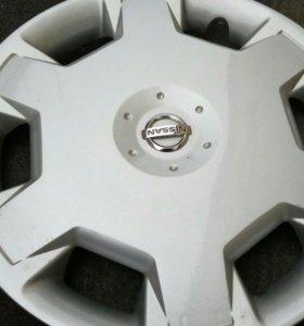 Колпаки оригинал Nissan 16r