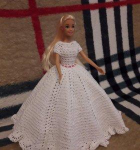 Платье для Барби...крючком