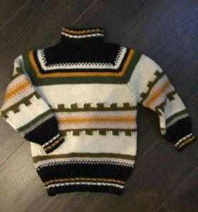 Детские свитерок и комбинезон