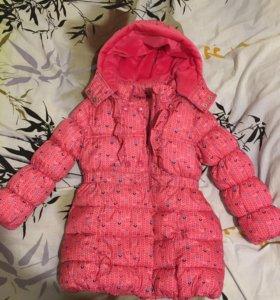 Зимнее пальто 122см