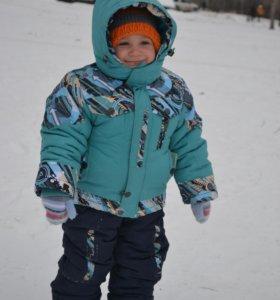 Зимний костюм для мальчика (2-3 года)