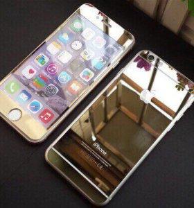 Золотые стекла на все модели iPhone