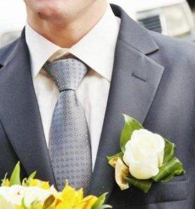 Костюм мужской двойка с рубашкой и галстуком