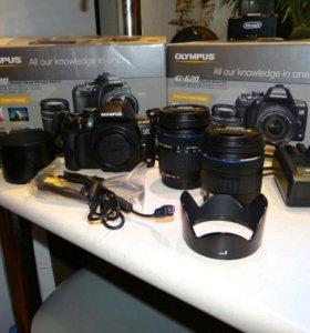 Зеркальный фотоаппарат Olympus e620