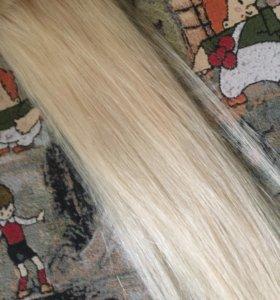 Натуральные волосы 60 см