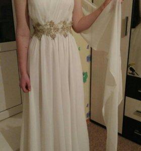 Шикарное выпускное/свадебное платье